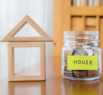 Are You Ready to Buy Your First Home? Savings Jar Image