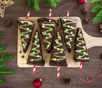 9 Easy Holiday Baking Recipes Brownies Image