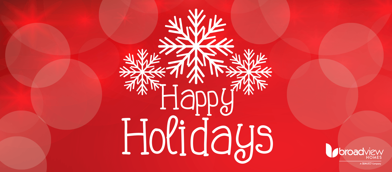 Happy Holidays from Broadview Homes! Featured Image