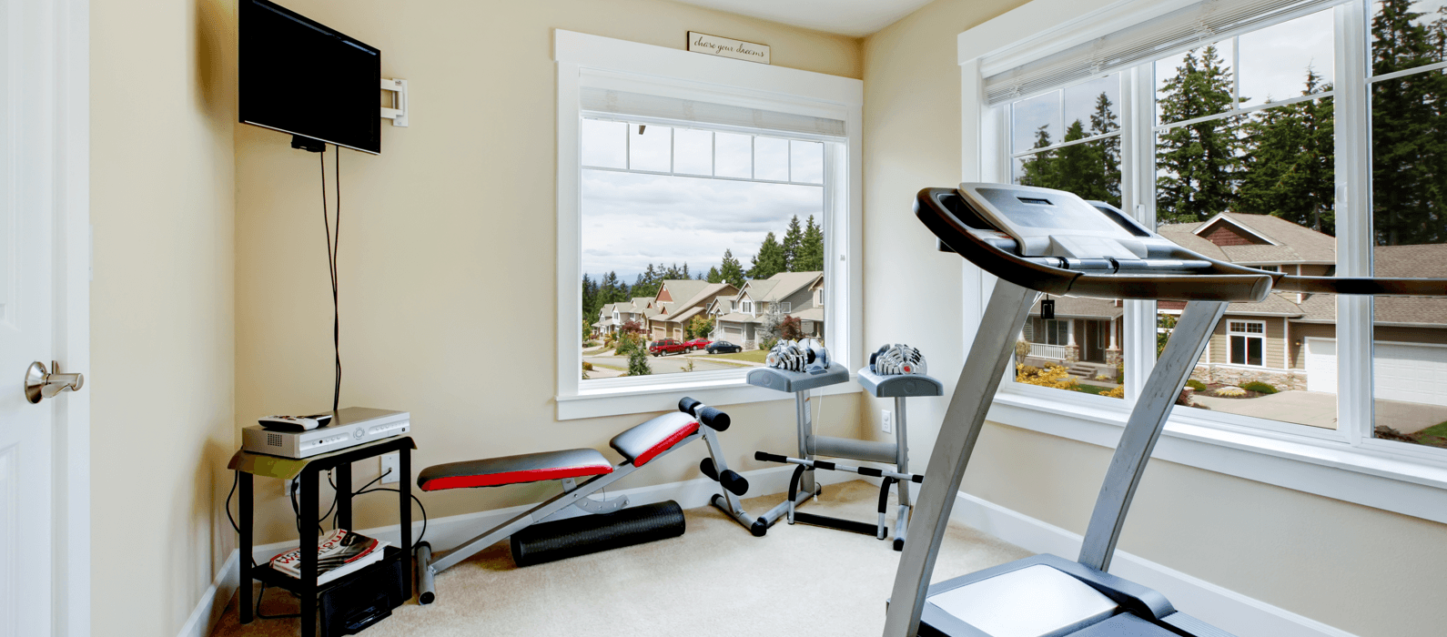 Home Gym Ideas You Can't Live Without Featured Image